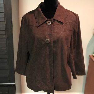Brown woman's blazer